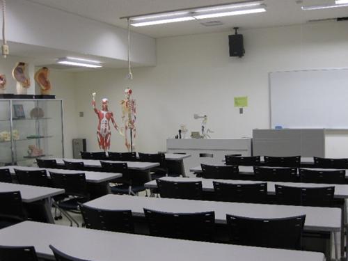人体構造・機能実習室